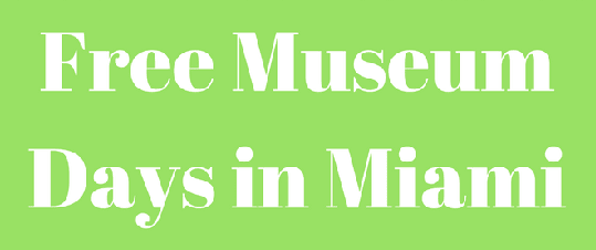 find free museums